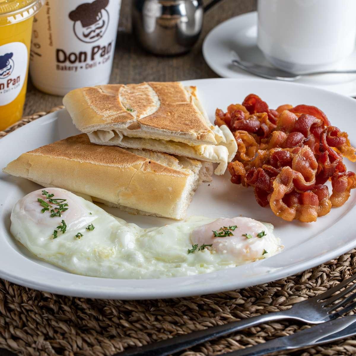#3 American Breakfast