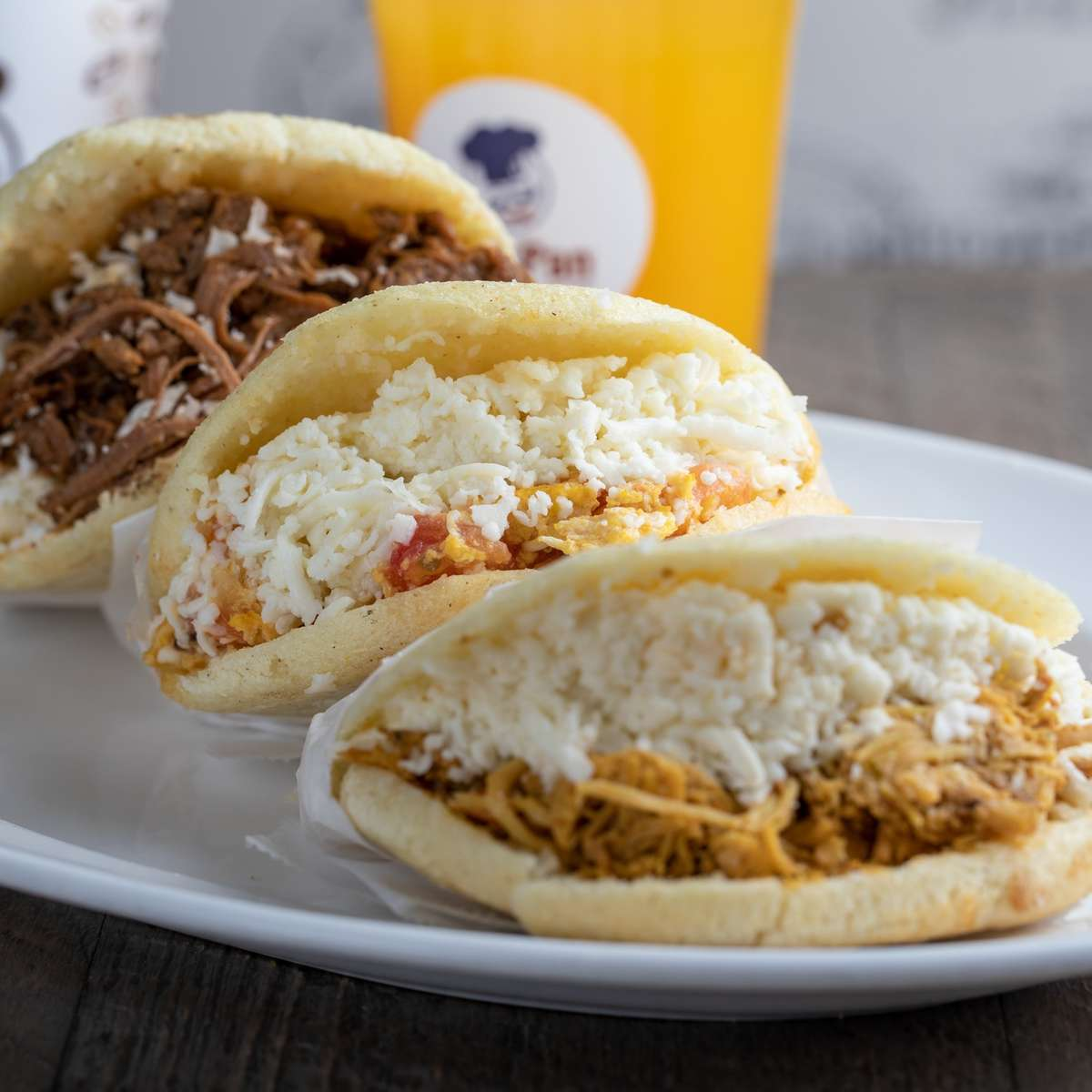 Arepa Combo for 4