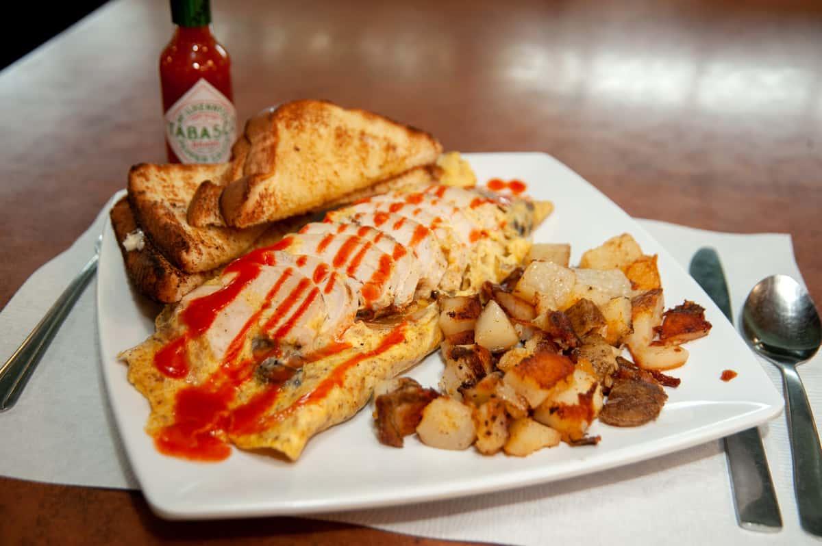 Killer Cajun Omelet
