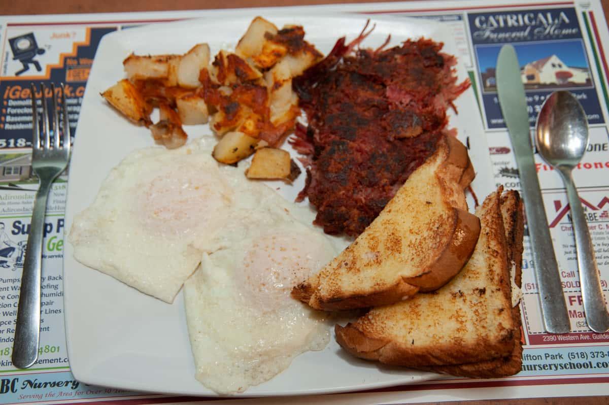 Best Homemade Corned Beef Hash in Upstate New York