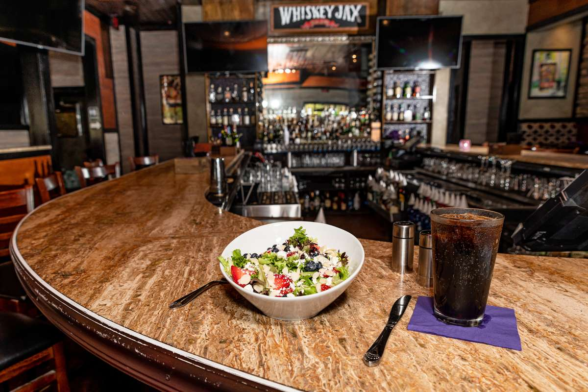 the good salad at the bar