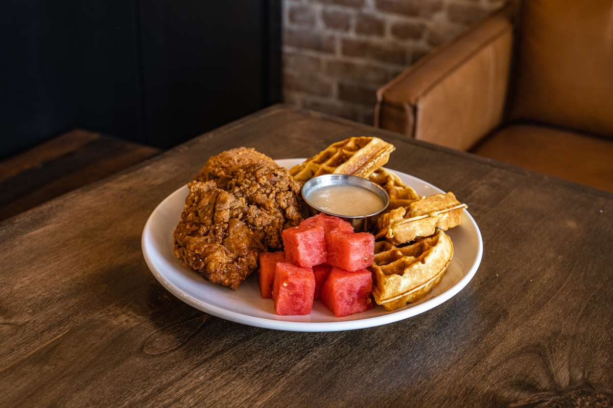 Station's House Made Chicken & Waffles