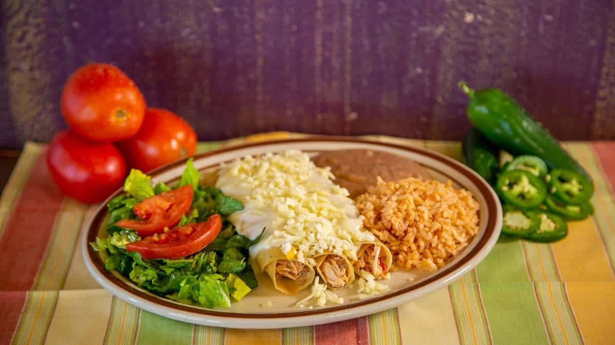 sour cream chicken enchilada