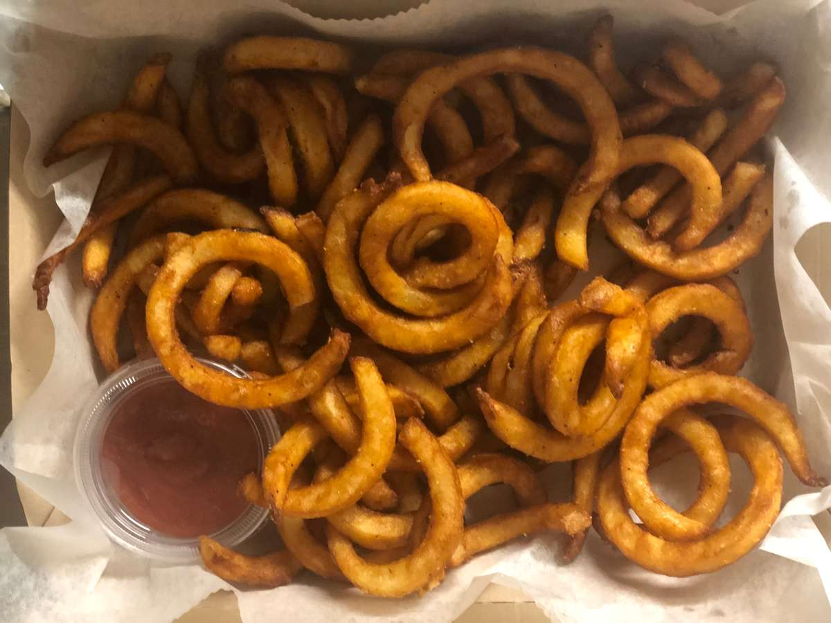 Basket of Curly Fries