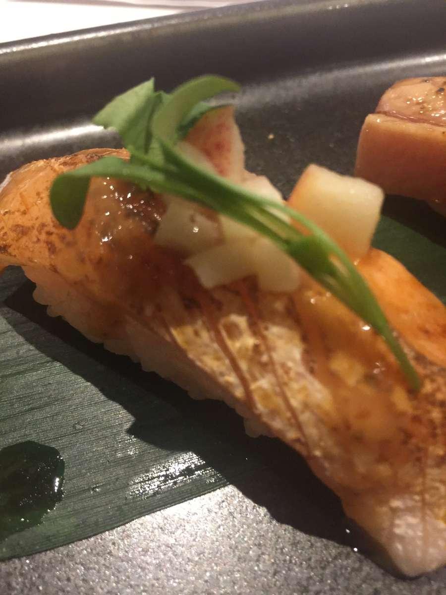 Aburi Salmon Toro