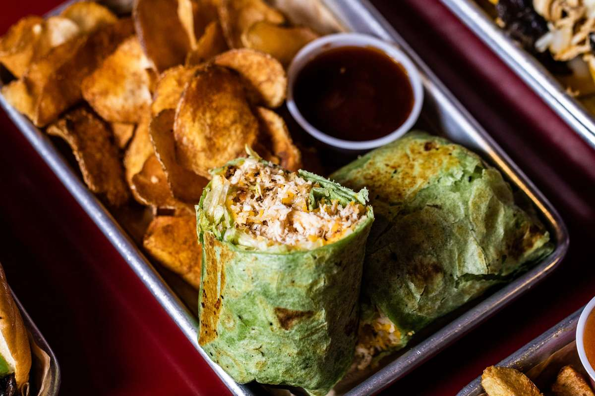Chicken Wrap - Grilled or Breaded