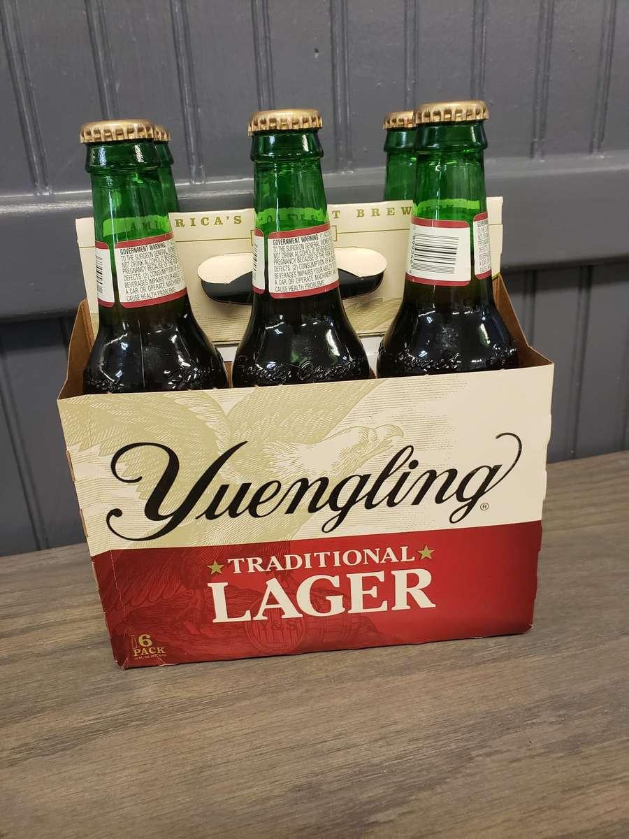 Yuengling Lager - 6 Pack Bottles