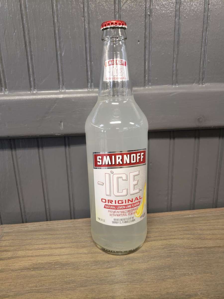 22oz Smirnoff Single Bottle