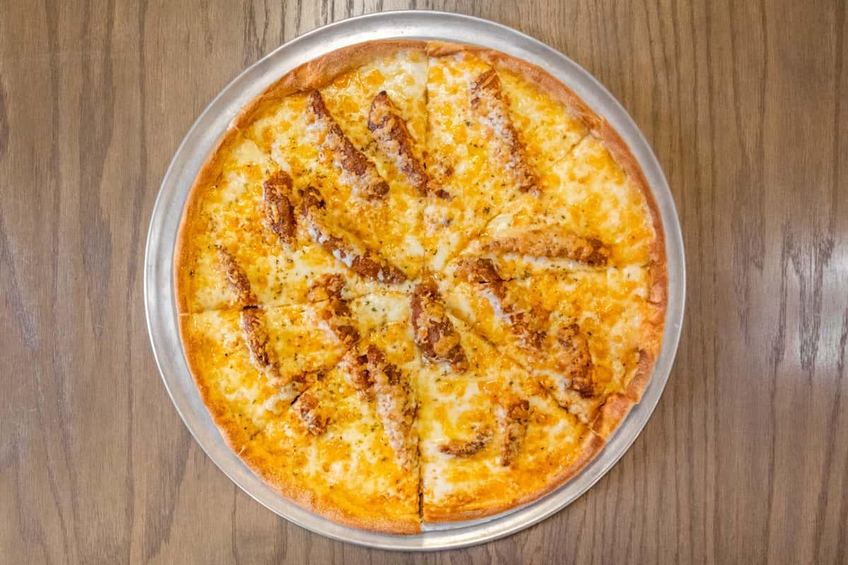 Buffalo Tender Pizza Small