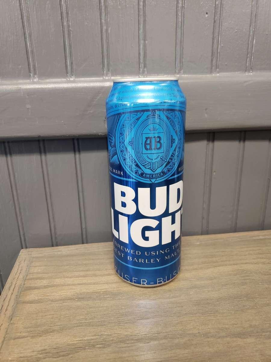 25oz Bud Light Can