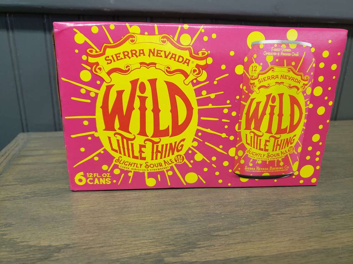 Sierra Nevada- 6 Pack Cans Wild Little Thing