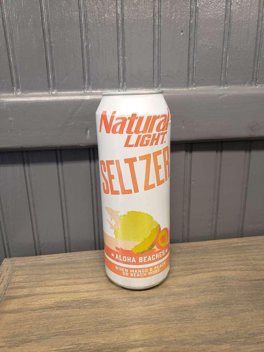 25oz Natural Light Seltzer