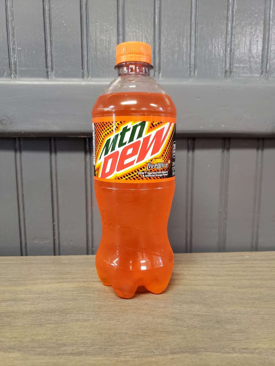 Bottled Mountain Dew – Live Wire