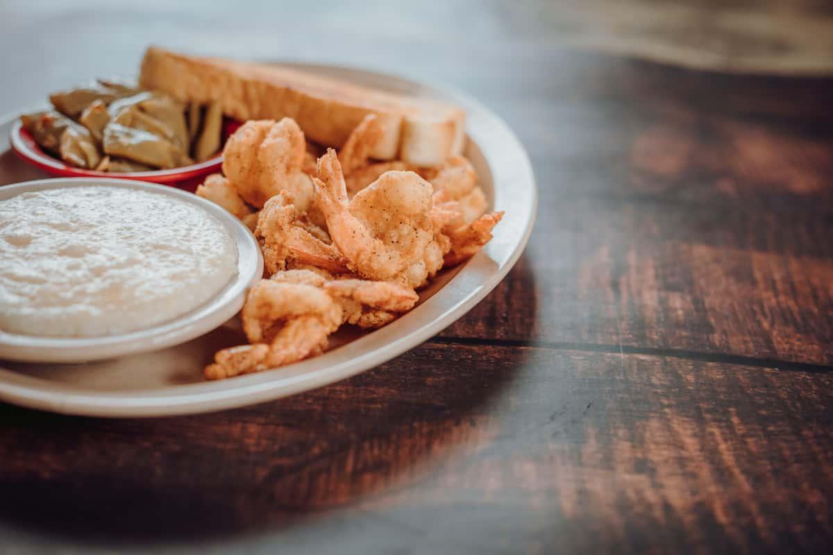 10 Golden Fried Shrimp