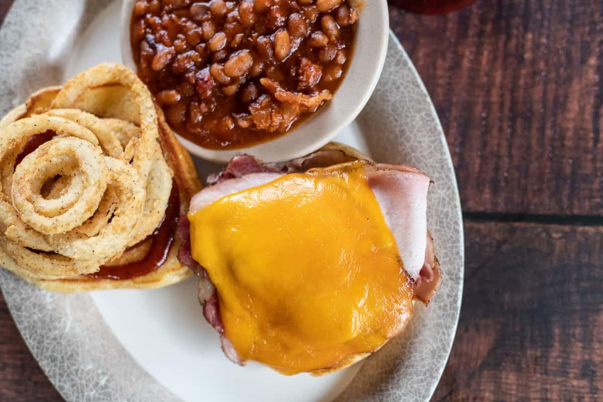 Pork Smokehouse Sandwich