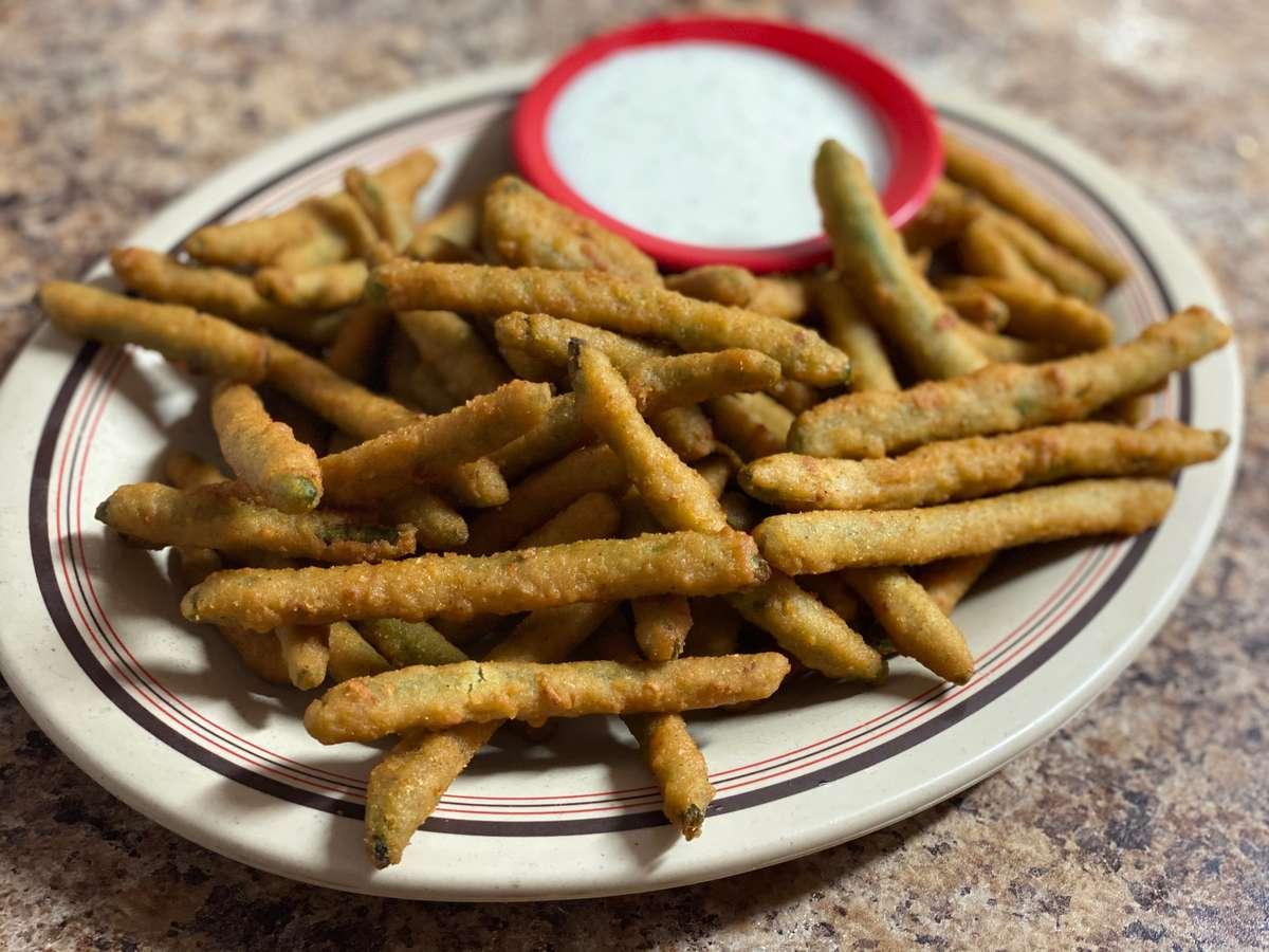 Fried Green Beans Appetizer