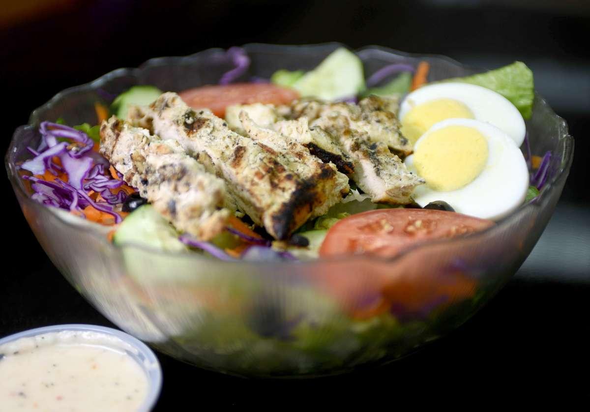 Cobb Salad (Grilled or Crispy Chicken) or Albacore Salad