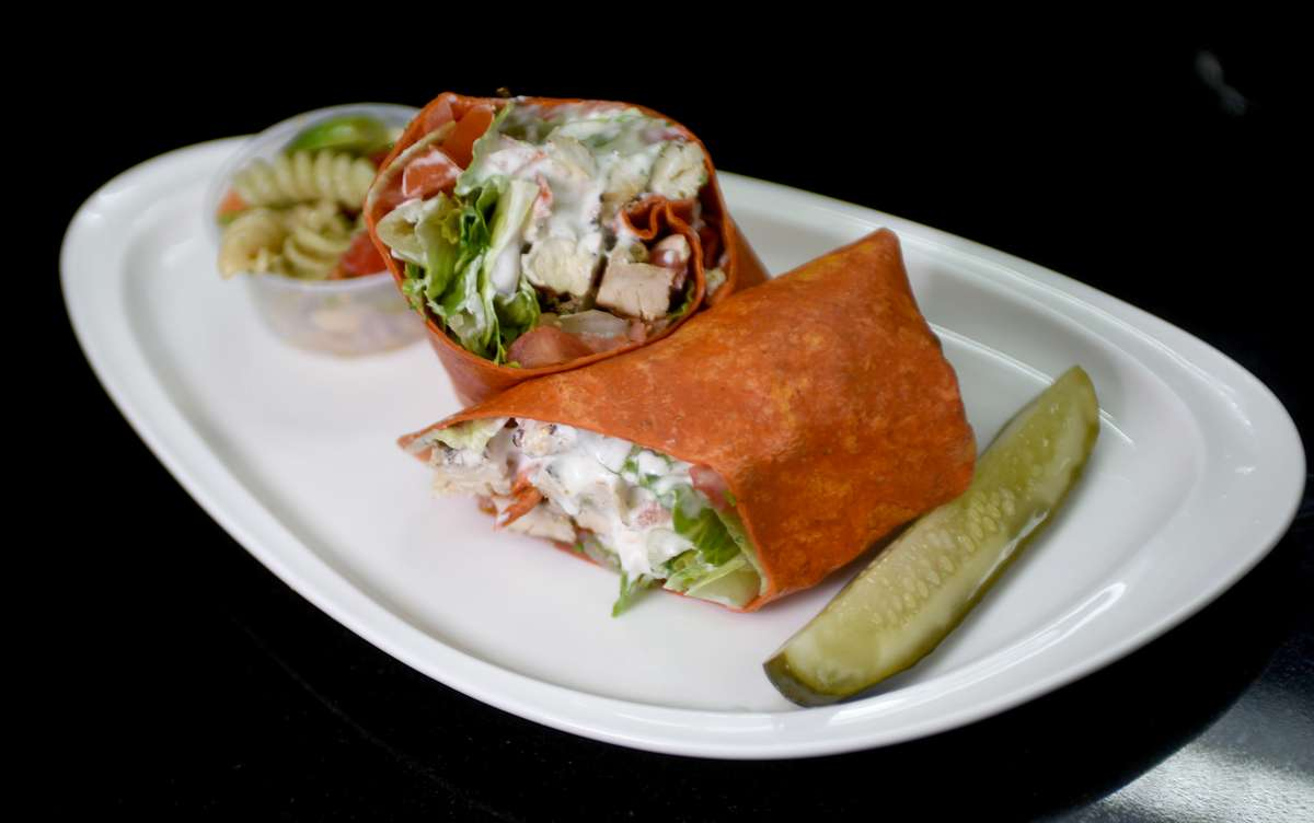 Grilled Chicken and Ranch Wrap