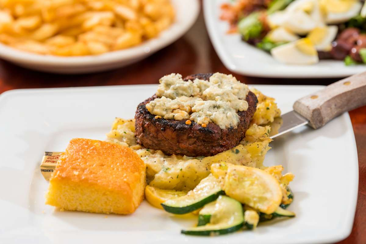 Black & Bleu Filet