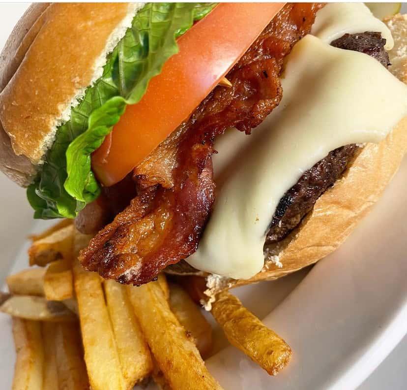 McGlynn's Stuffed Burger