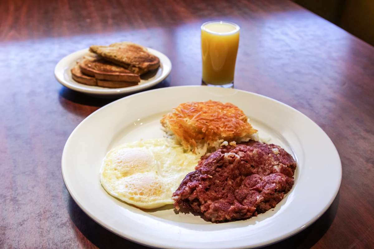 House Made Corned Beef Hash & Eggs*