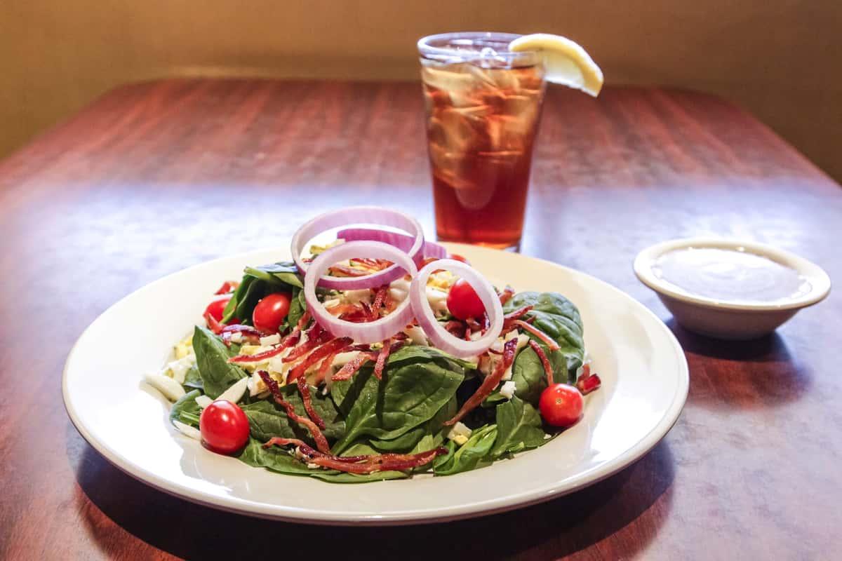 Fresh Spinach Salad*