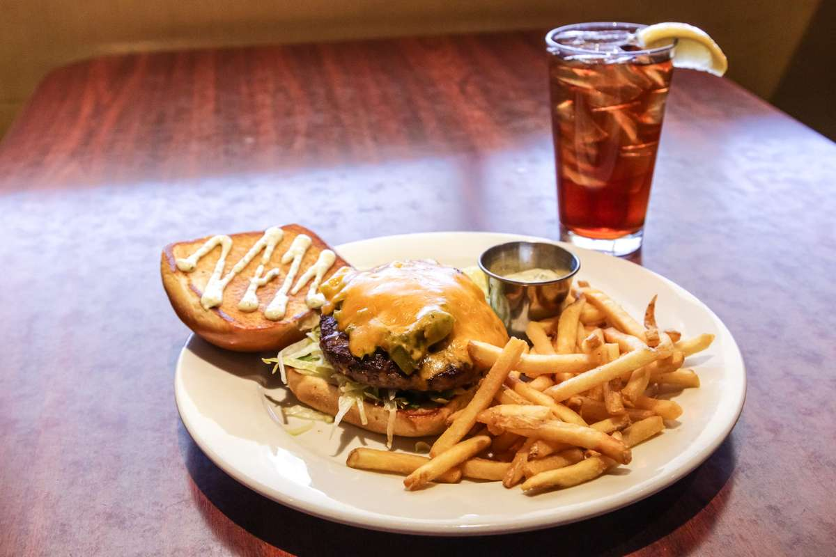 Hatch Green Chili Burger*
