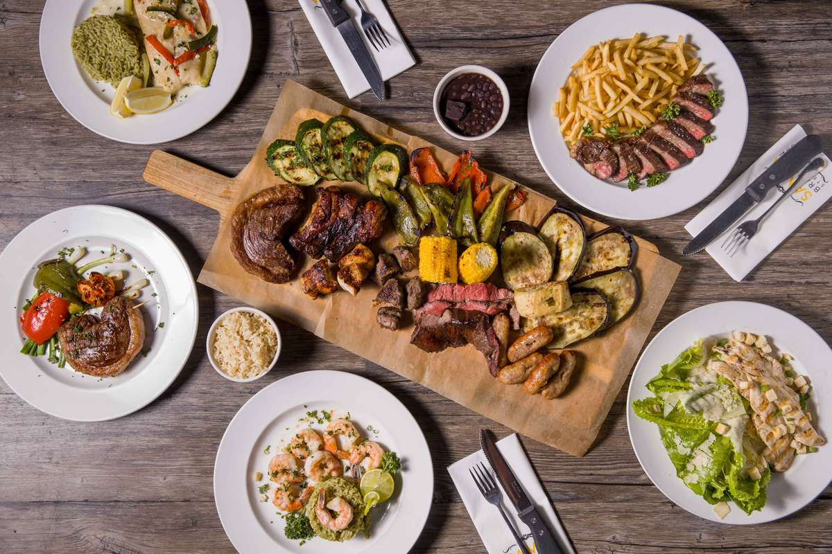 ALL-YOU-CAN-EAT BRAZILIAN BBQ FEAST