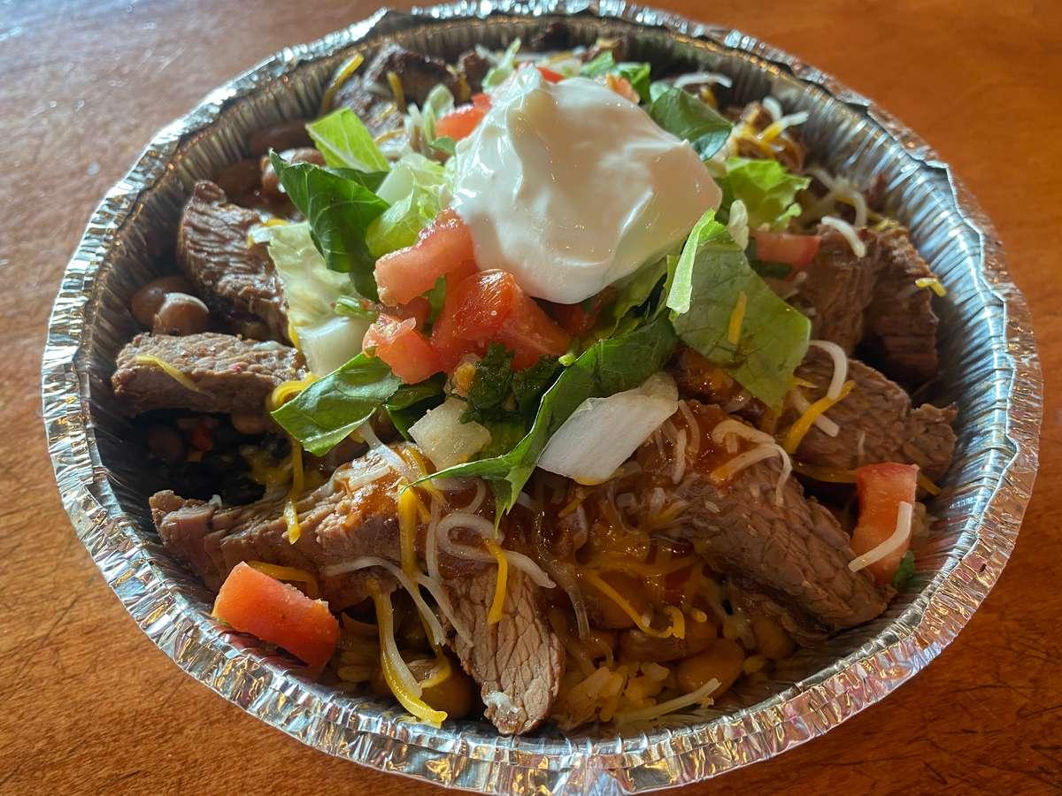 Carne Asada Fiesta Bowl