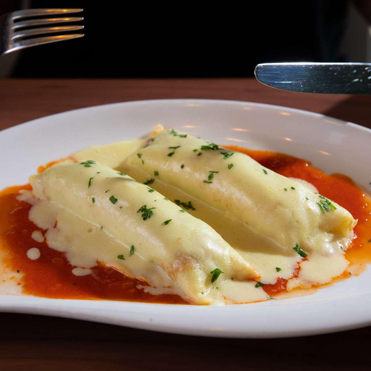 Cannelloni Carne e Spinaci