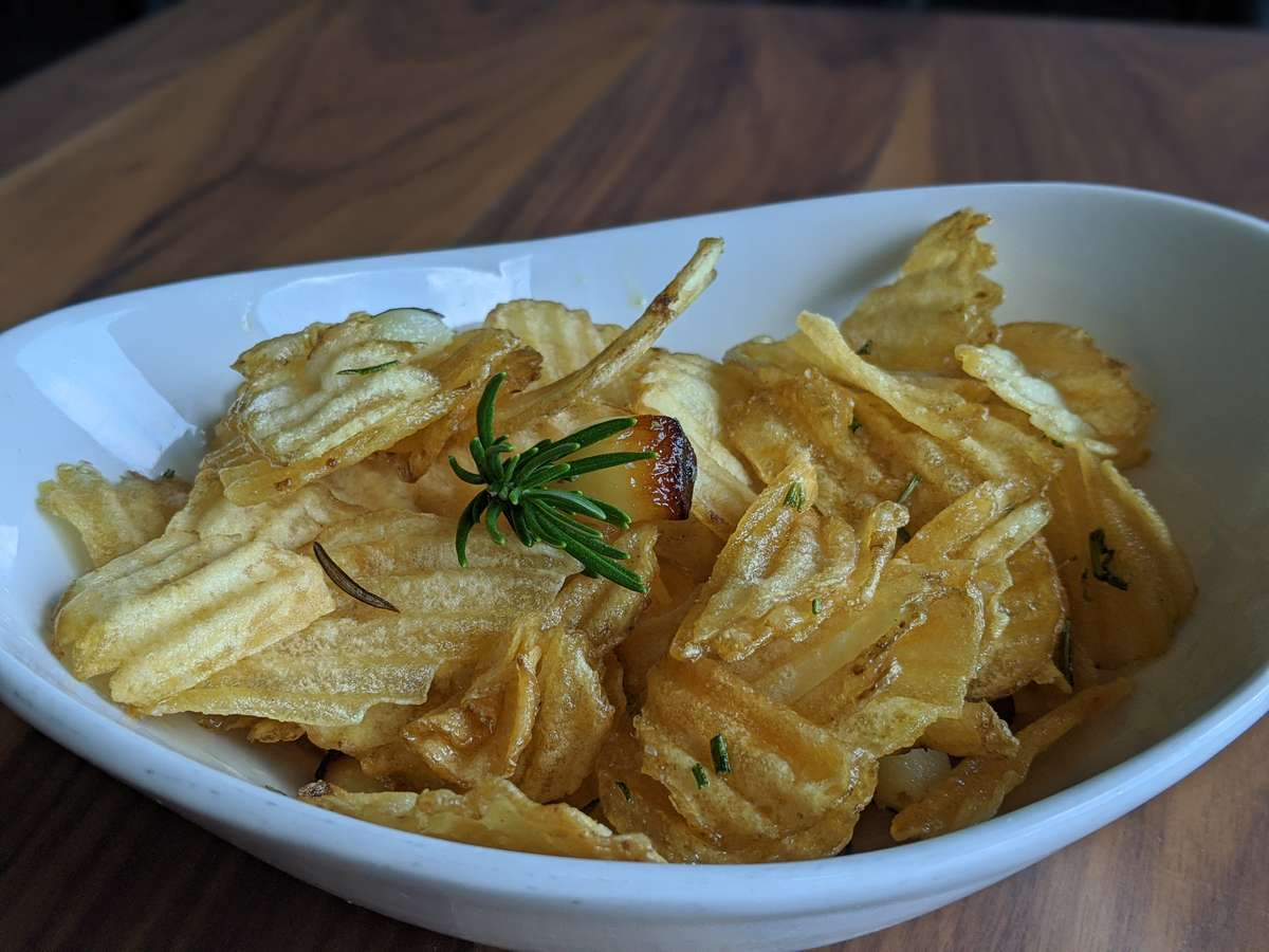Rosmary & Garlic Chips