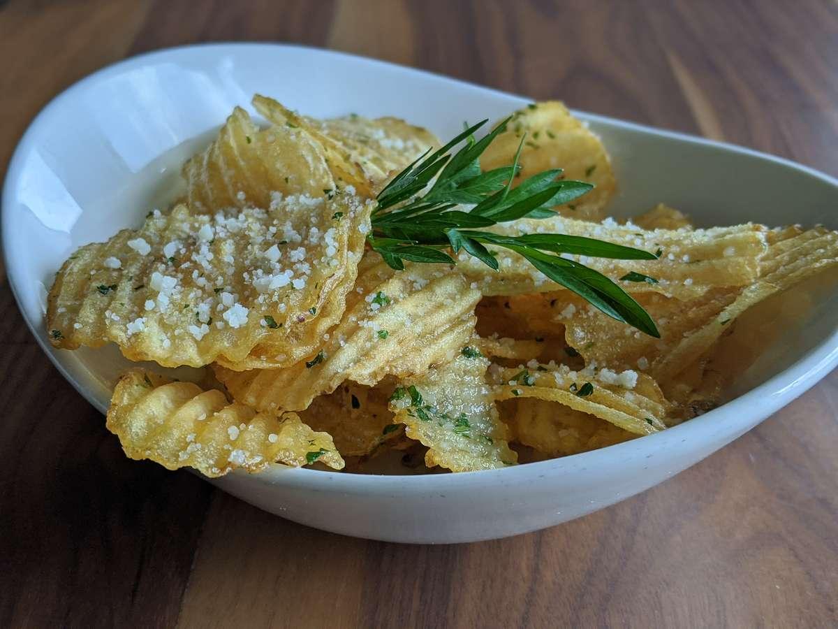 Truffle Oil & Parmesan Chips