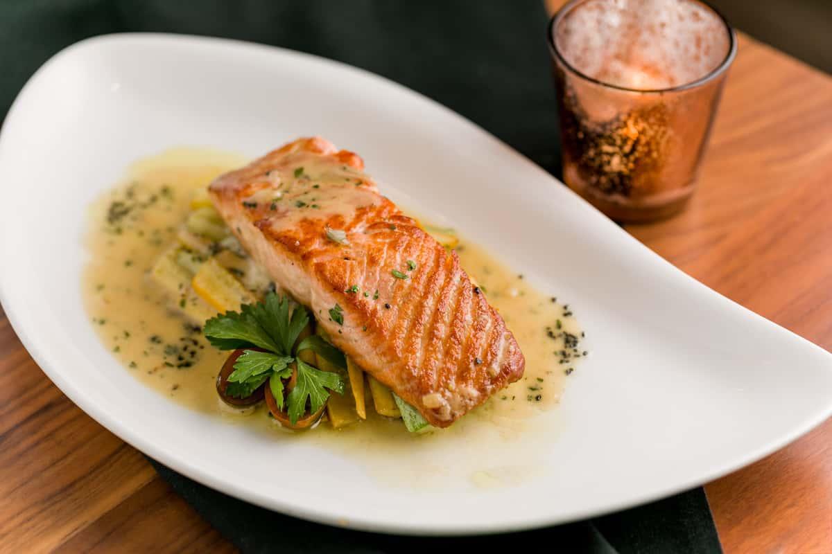 Pan Seared Ora King Salmon*