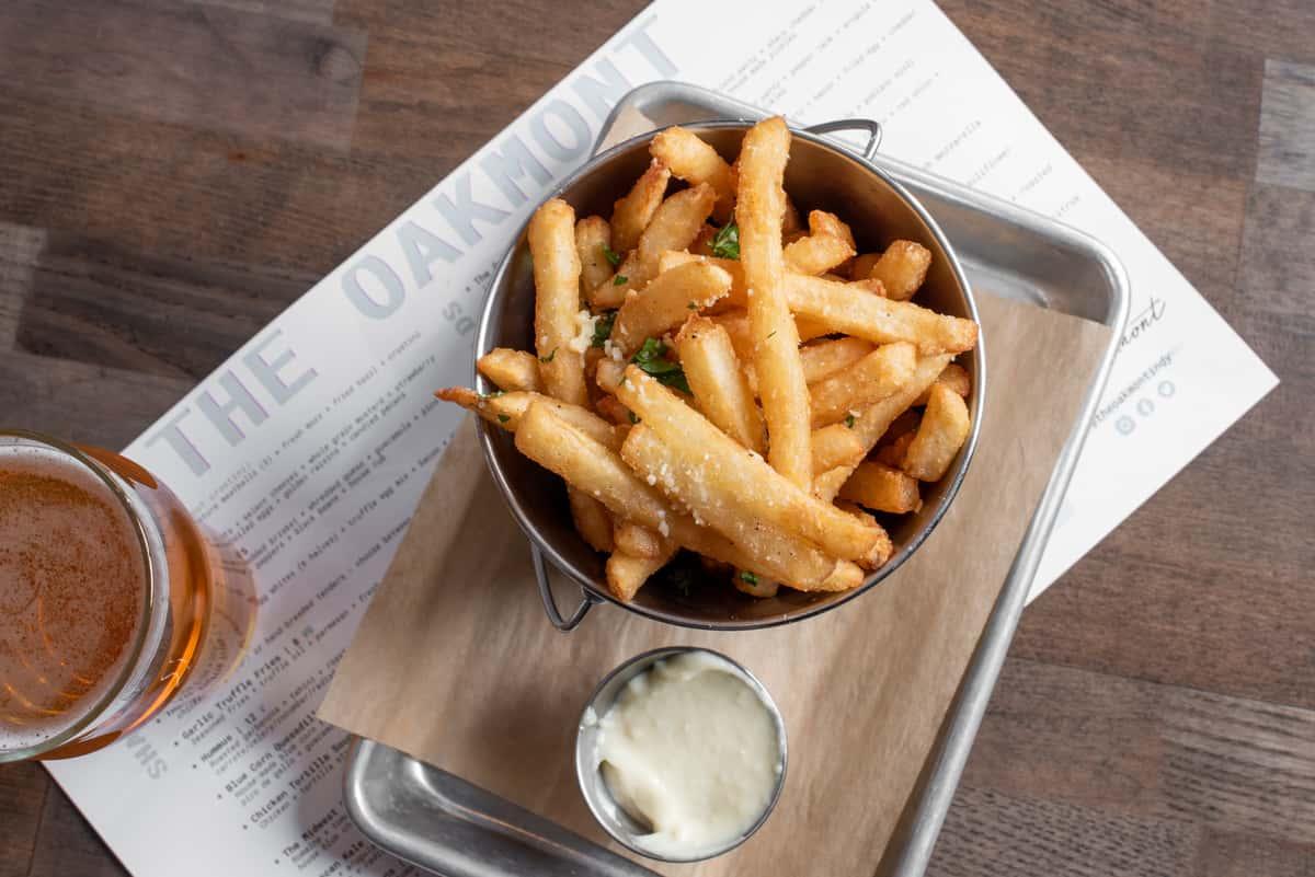 Garlic Truffle Fries