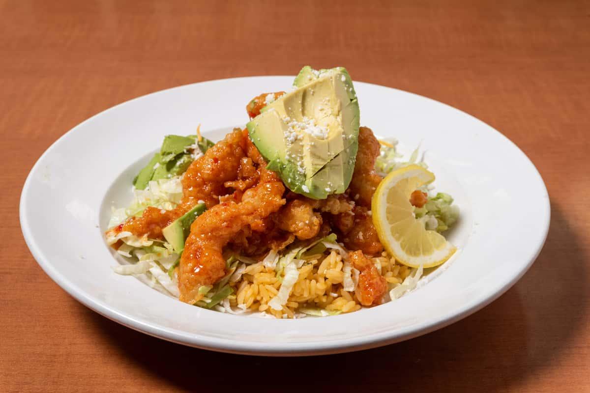 Firecracker Shrimp Bowl/Burrito