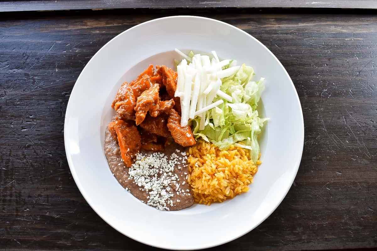 Buffalo Chicken Bowl/Burrito