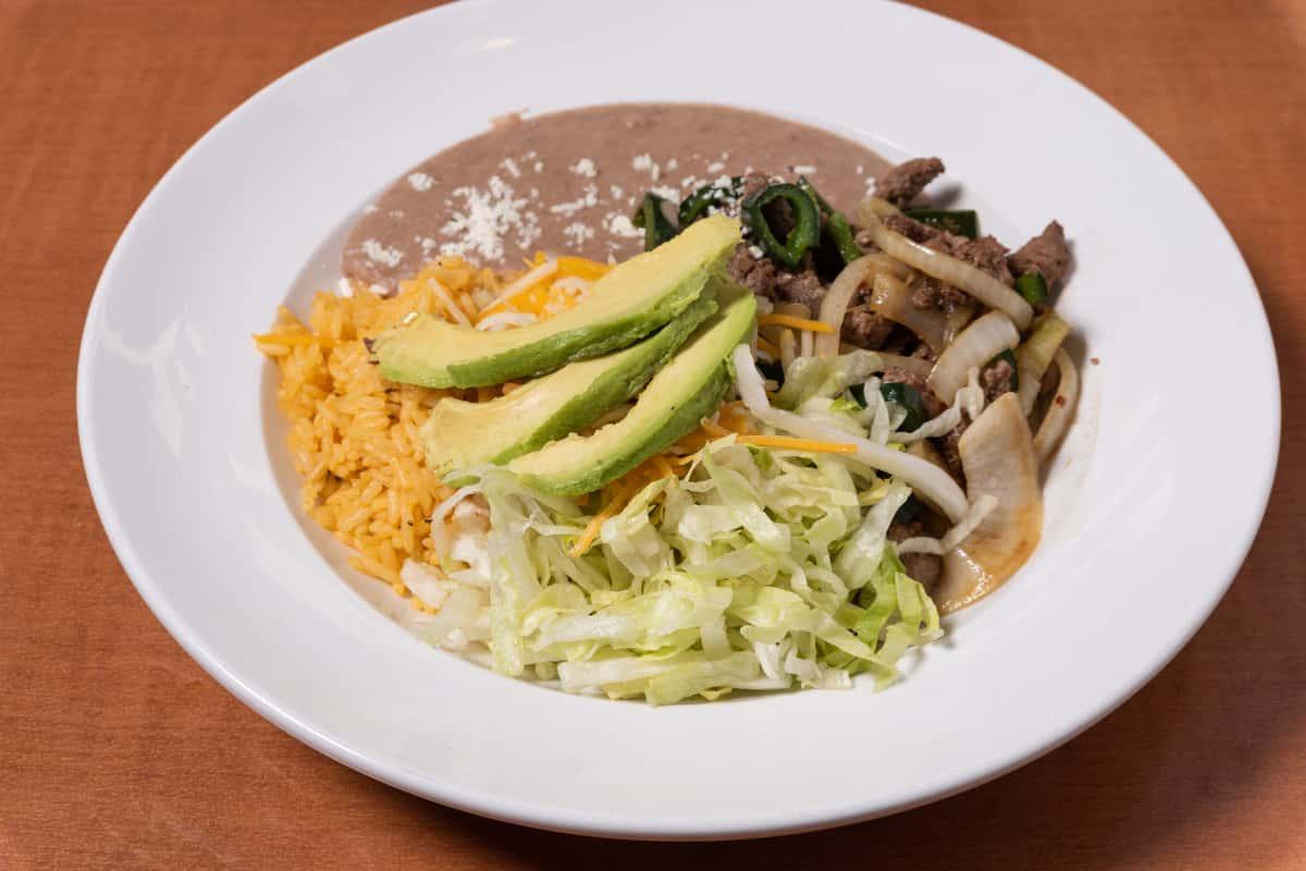 Steak Fajita Bowl/Burrito