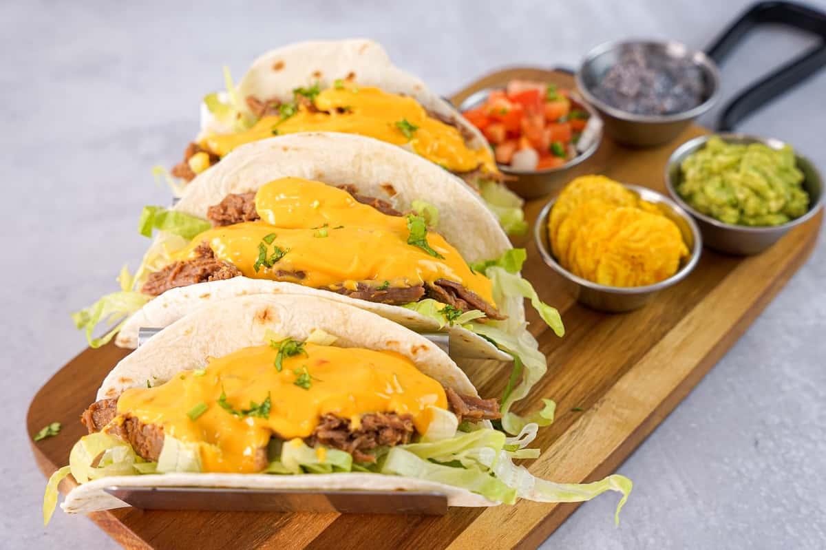 Steak and Cheese Taco