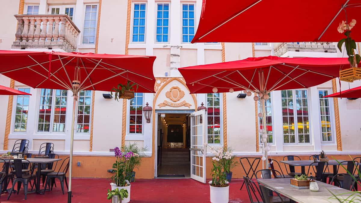 Exterior of The Locust Bar & Restaurant