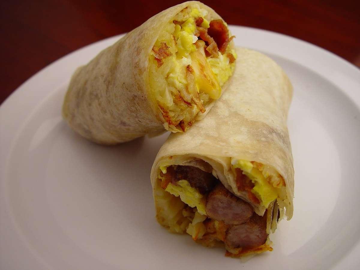 21. Breakfast Burrito