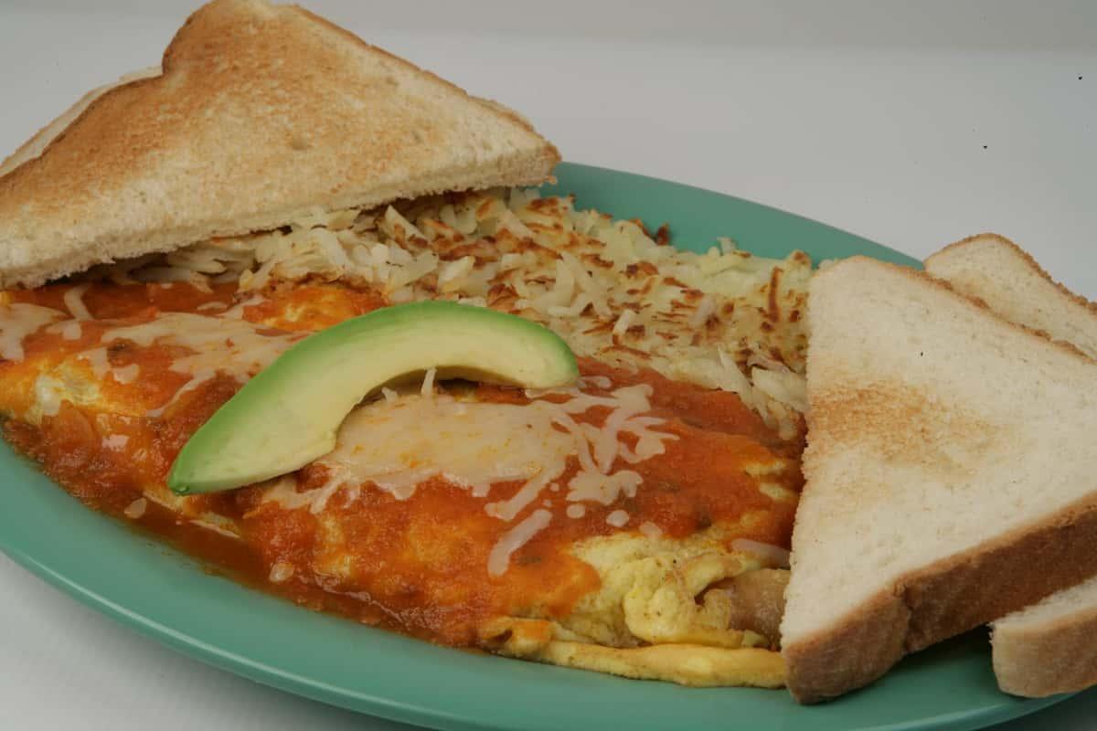 3. Chile Relleno Omelette