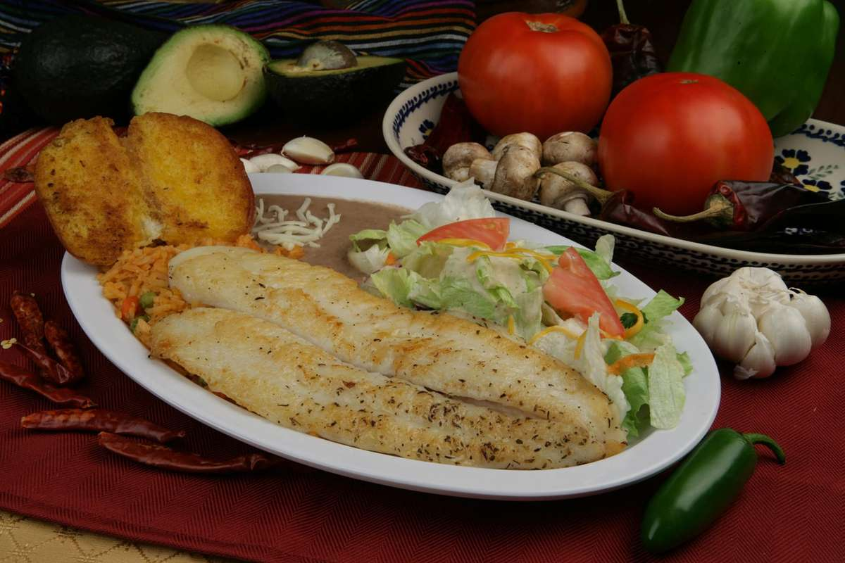 Filete De Pescado Al Ajo