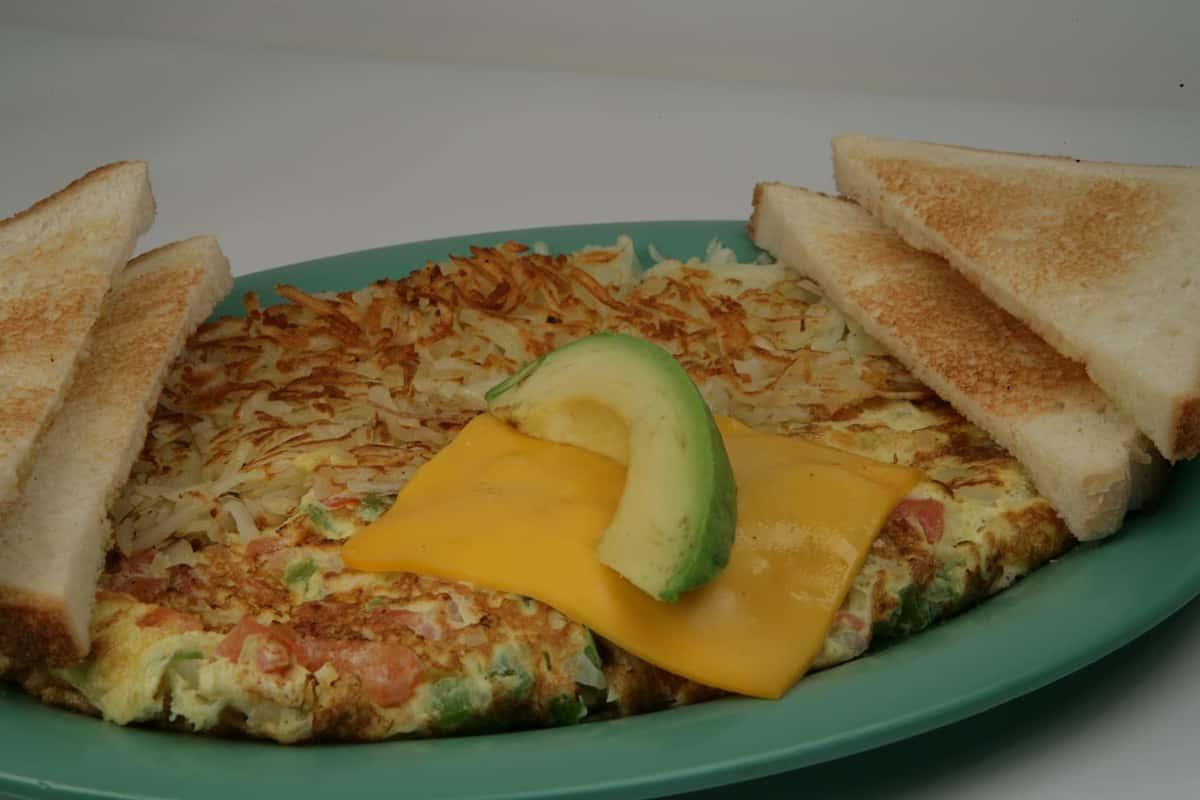 8. Veggie Omelette