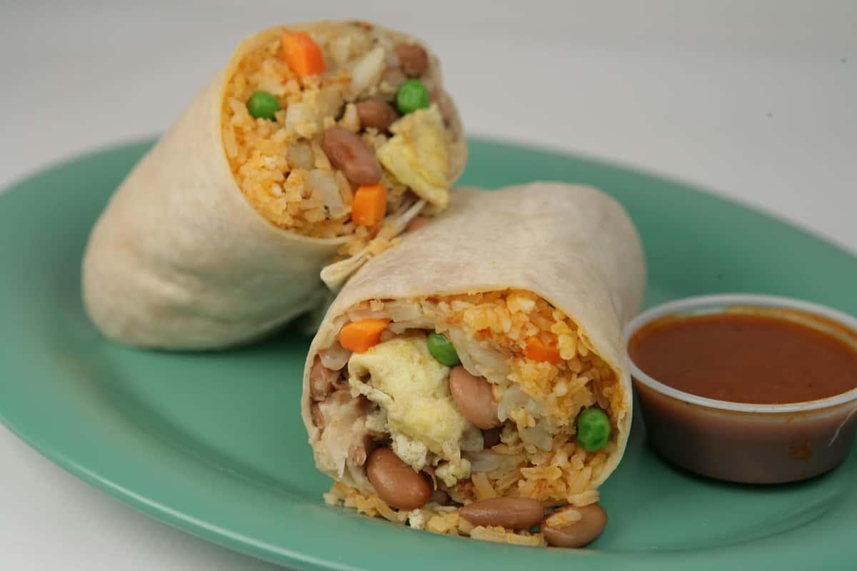 14V. Breakfast Veggie Burrito