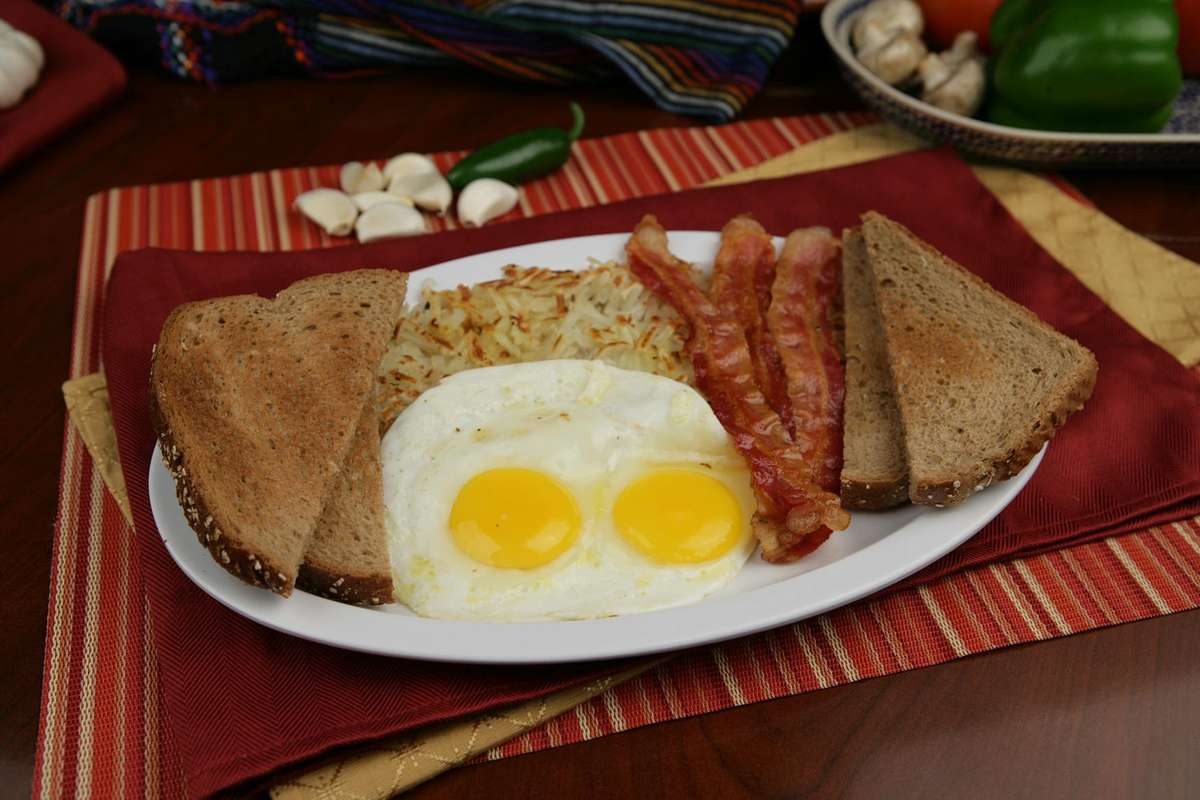 1. Bacon and Eggs