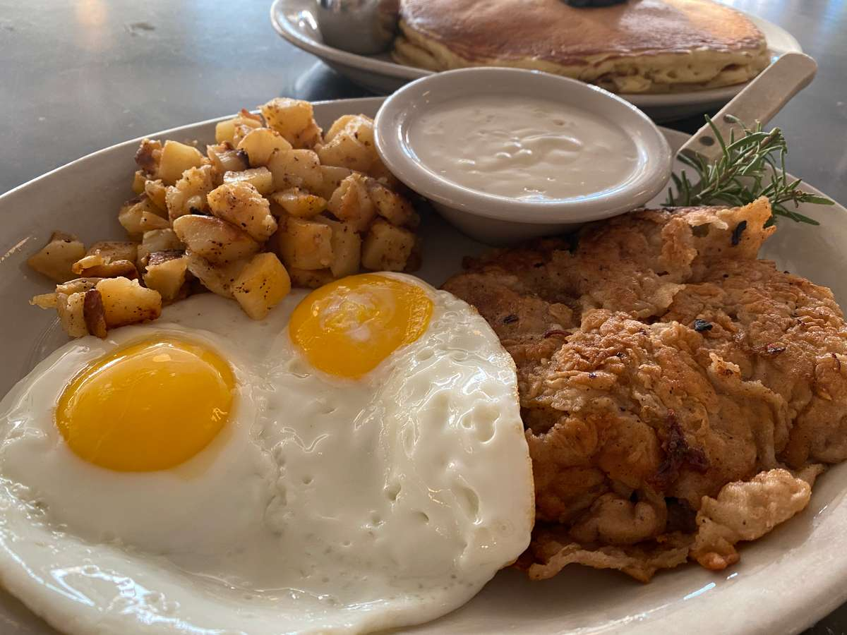 Two Eggs with Chicken Fried Steak