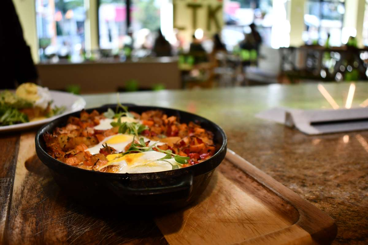 WOOD-OVEN BAKED EGGS