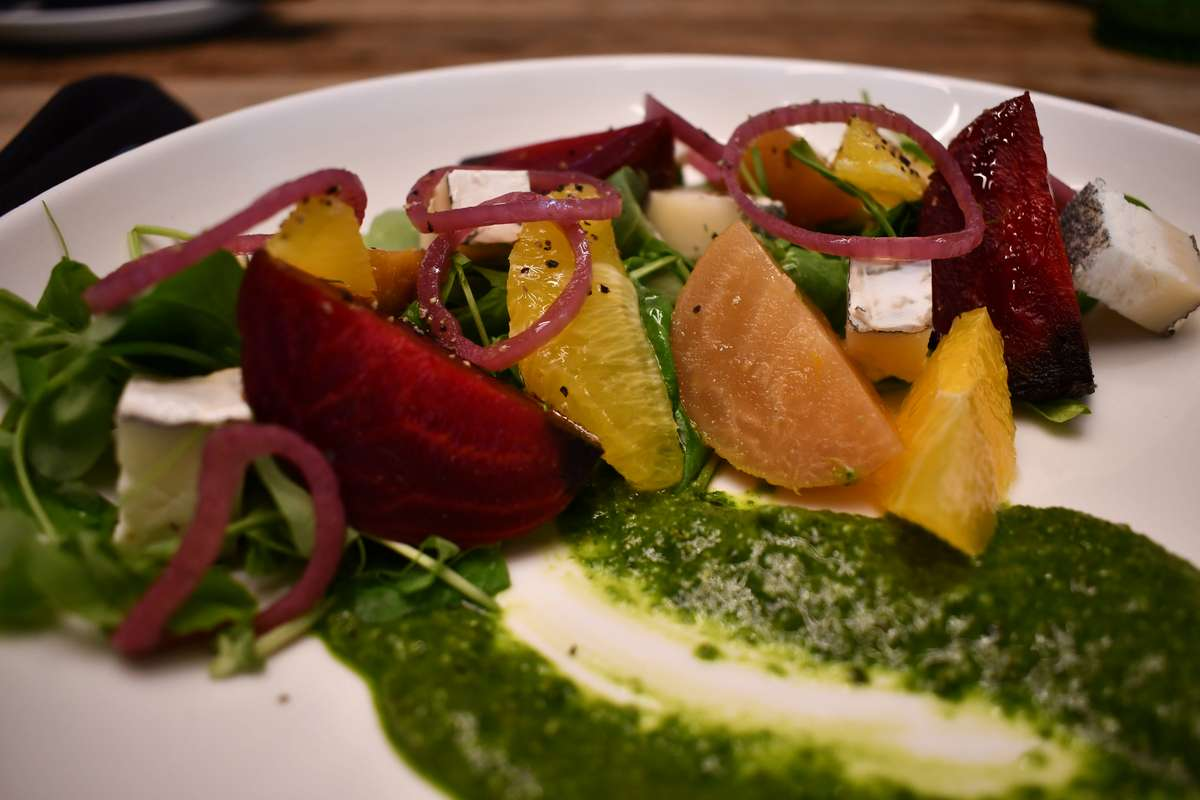 Sous Vide Golden and Red Beets