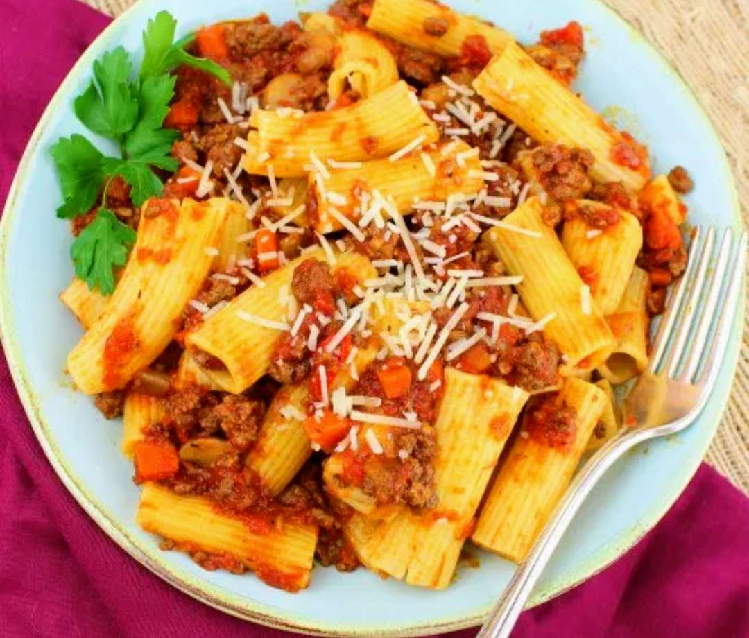 Kids Rigatoni with Bolognese