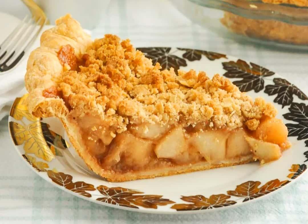Michelle's Apple Crumb Pie
